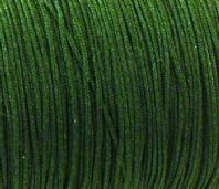 10M Dark Green Nylon Shamballa cord 1.0mm
